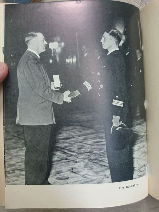 Germany - Rare Luxury Edition - Autobiopgrahpy Kriegsmarine Gunther Prien U-boat ace - Knights Cross Recipient - 1940