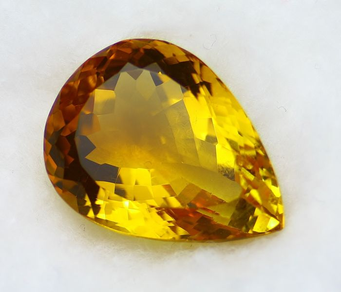 Citrine, No Reservation Price - 21.60 ct