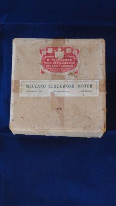Meccano - winding mechanism - 1950-1959