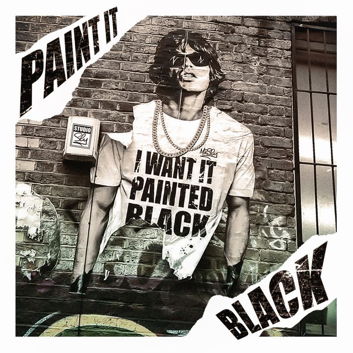 Mr Sly - Paint it Black  (Street Art Edition)