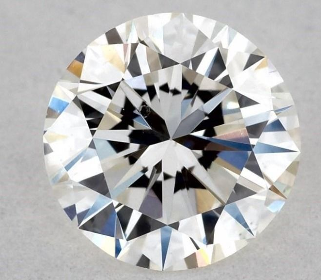 1 pcs Diamond - 0.50 ct - Round - F - VS2
