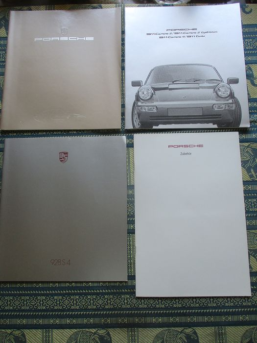 Brochures / Catalogues - Porsche - 911/928 - 1983-1991