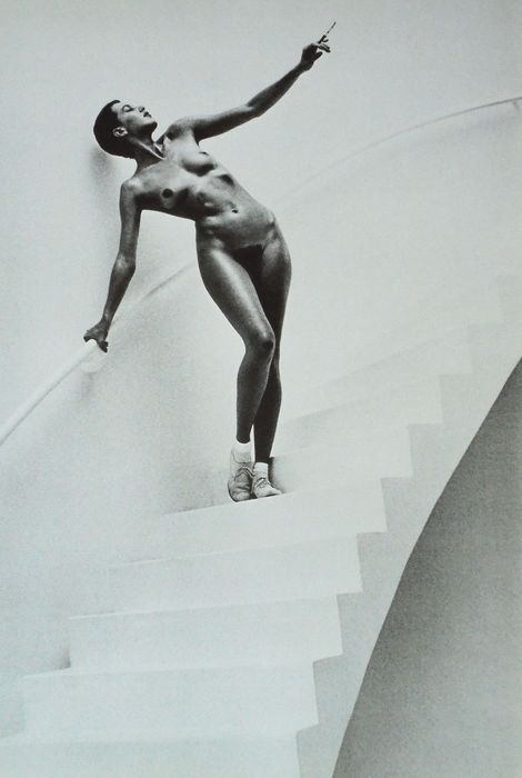 Helmut Newton (1920-2004) - In my Studio, Paris 1978