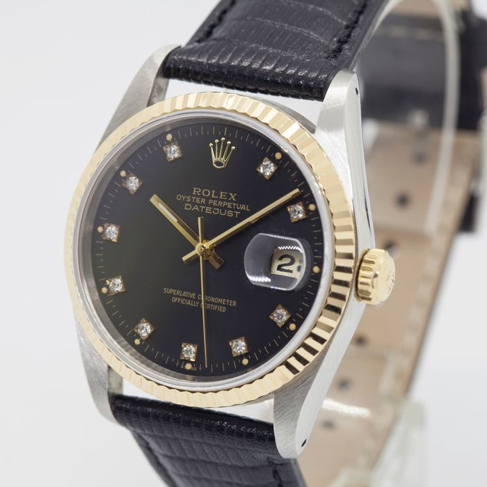 Rolex - Oyster Perpetual Datejust - 16233 - Heren - 1980-1989