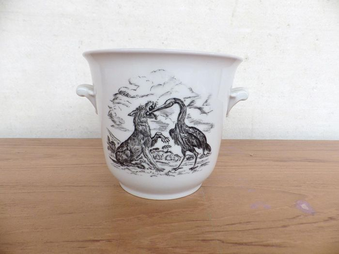 W. Paquin - Hutschenreuther - Pot with coves - Porcelain