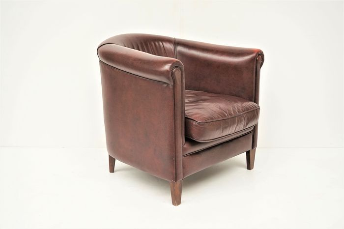 Sheep leather armchair - Contemporary