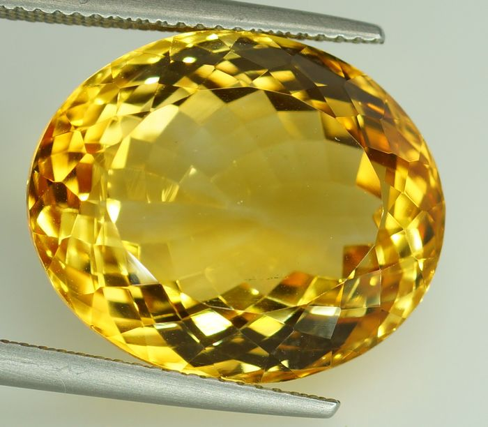 No Reserve Price -  Citrine - 22.30 ct