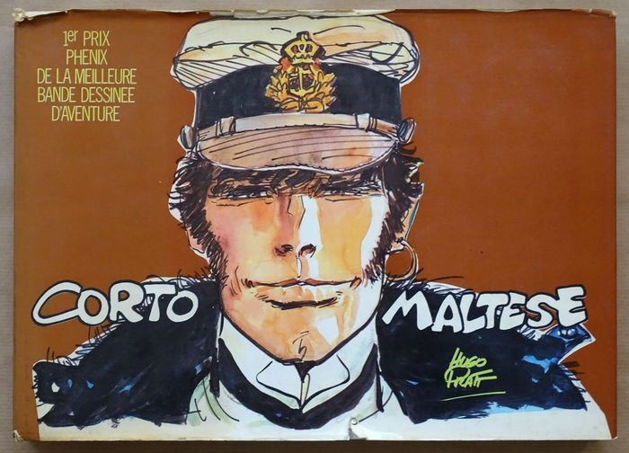 Corto Maltese - T1 Edition normale avec jaquette - Hardcover - First edition (1971)