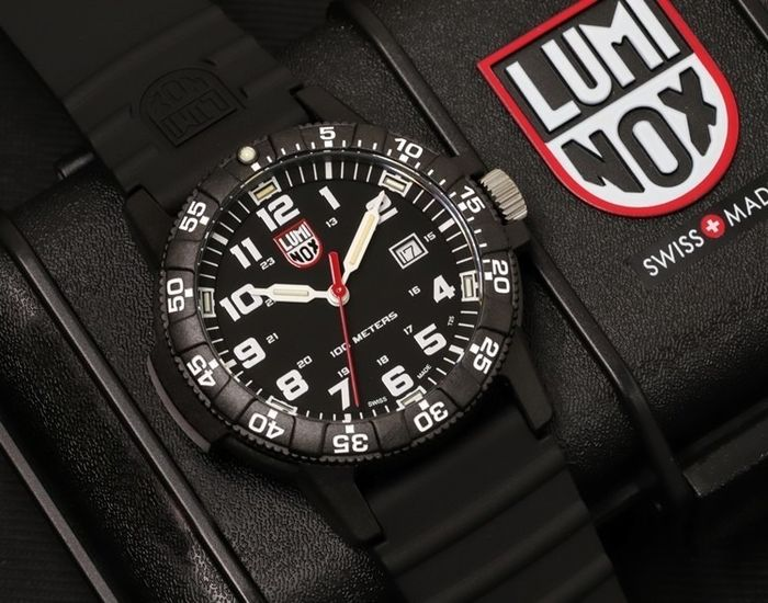 Luminox - Collezione LEATHERBACK SEA - Black Night - NUOVO - 0303 - Unisex - 2019