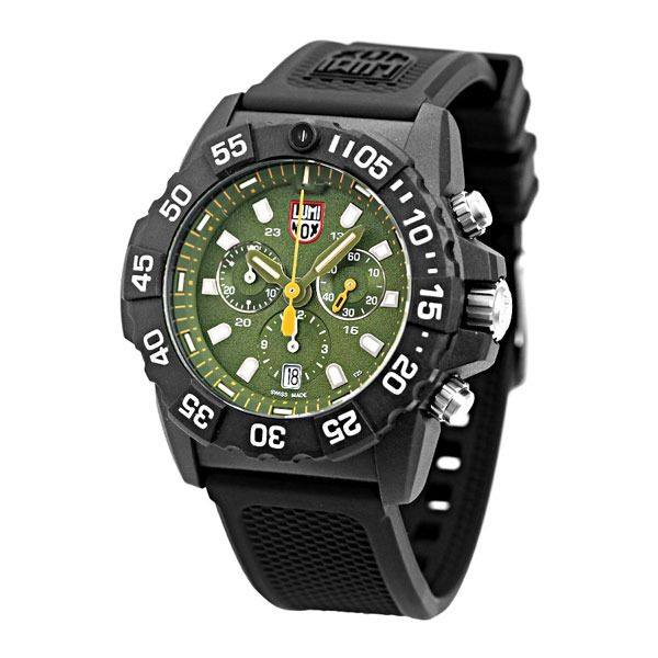 Luminox - Cronografo NAVY SEAL in CARBONIO 200 ATM - 3581 - Men - 2019