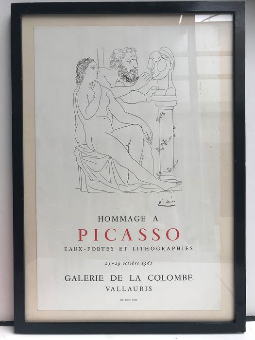 Pablo Picasso - Hommage a Picasso - 1961