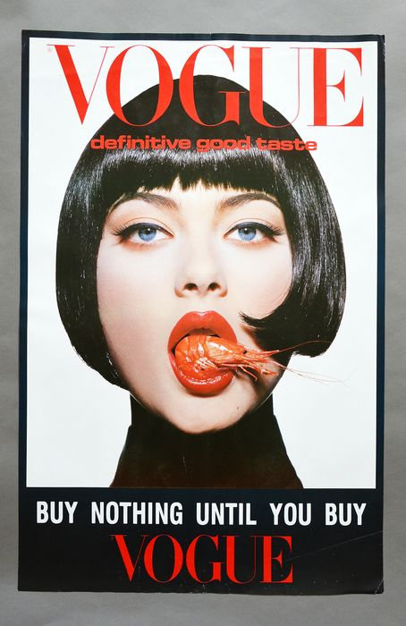 Conde Nast Publications - Vogue advertisng - 1980