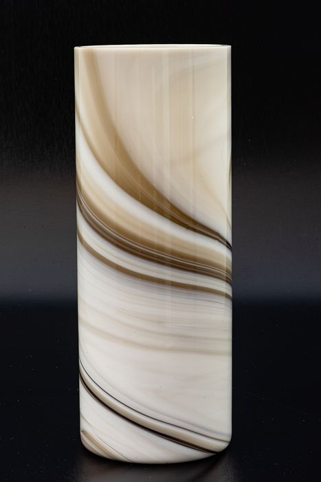 "Peill & Putzler, Düren - Vase ""Carrara"" - Height 23 cm - Glass"
