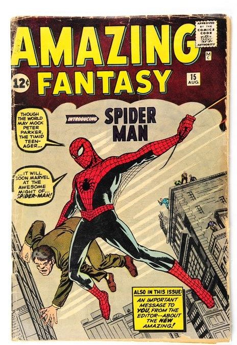 Amazing Fantasy #15 - (i-AMF Top Collection) - 1st Full Appearance of Spider-man - 1st Edition - (1962)