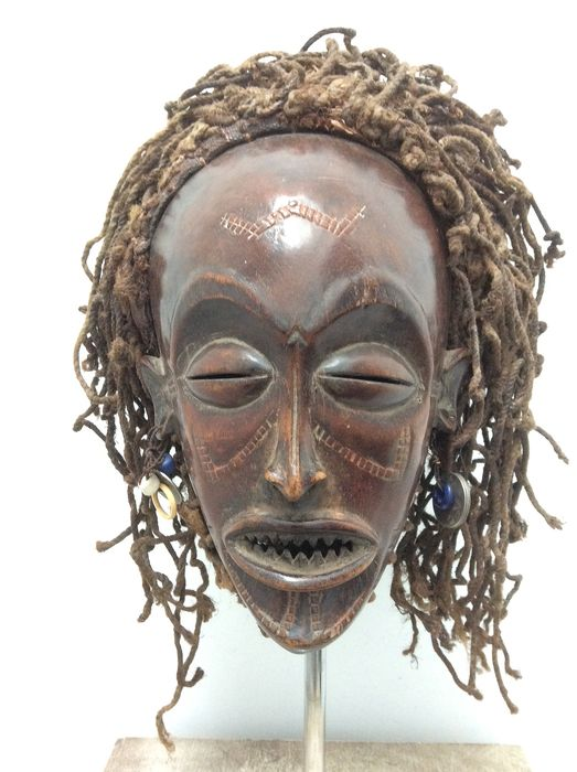 Mask - Wood - Chokwe - Angola