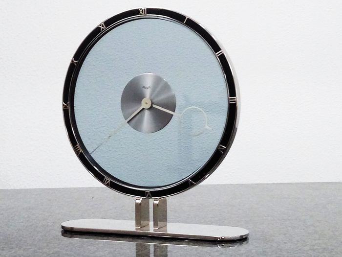 Tabletop clock - Einrich Moeller - Steel - 1930