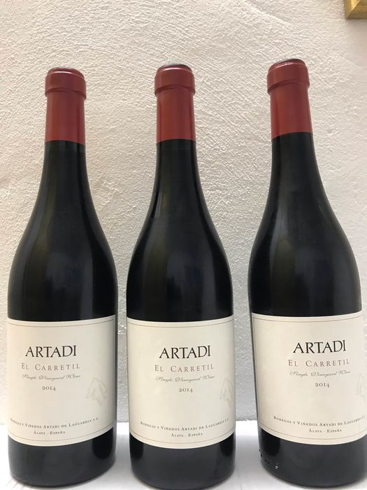 Artadi El Carretil   - Alava - 3 Bottles (0.75L)