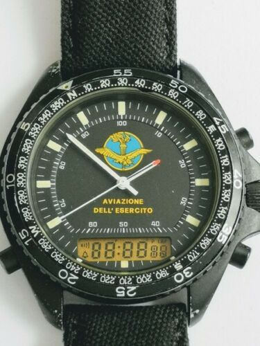 Breitling for DPW - militare AVIAZIONE DELL´ESERCITO black steel - Heren - 1980-1989