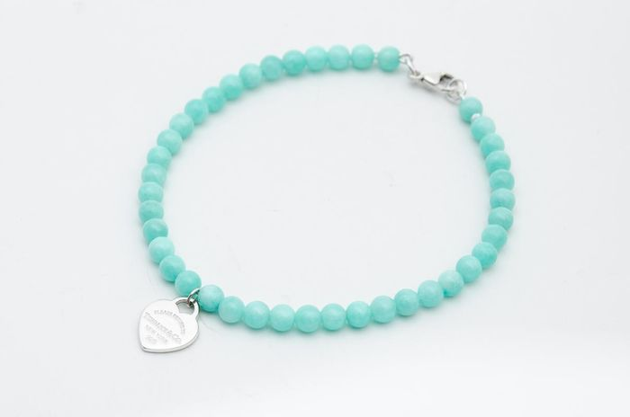 Return to Tiffany Bead Bracelet@ Silver - Bracelet