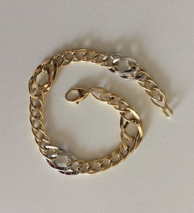 Cerini AR - 18 kt. White gold, Yellow gold - Bracelet