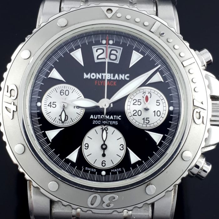Montblanc - Sport Flyback Automatic  - Ref: 7059 - Homem - 2011-presente