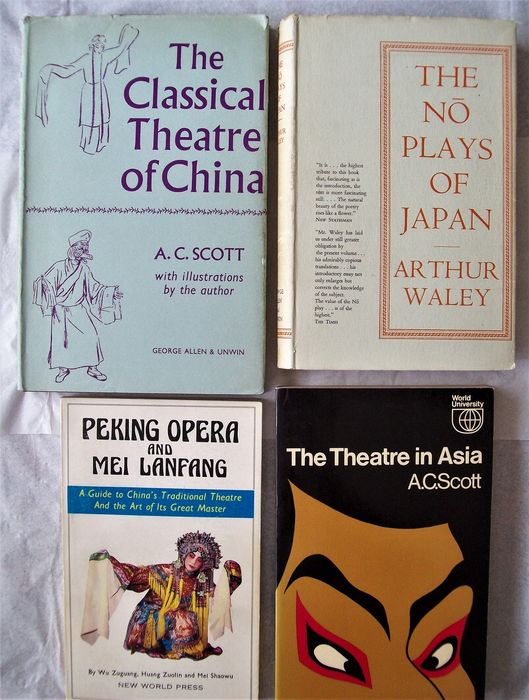 A.C. Scott - The Theatre in Asia [+ 3] - 1954/1981