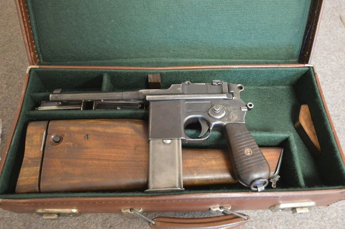 Germany - Mauser - Autoloading - Centerfire - Pistol - 7,63 Mauser
