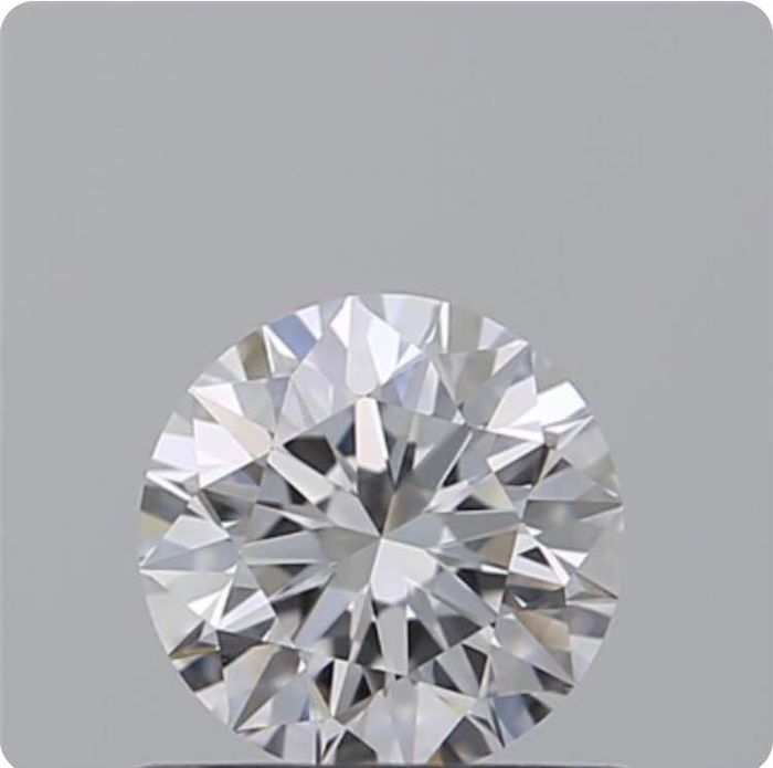Diamond - 0.50 ct - Brilliant - D (colourless) - IF (flawless), LC (loupe clean)