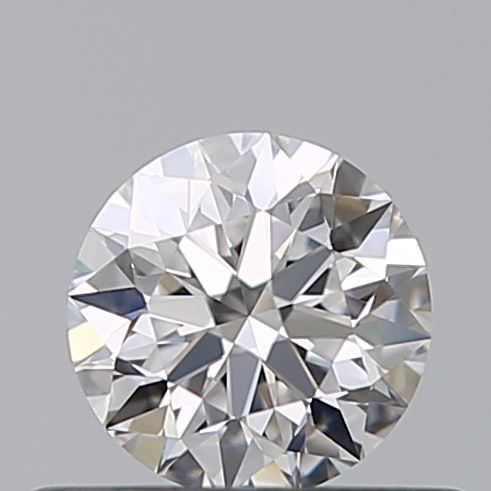 1 pcs Diamond - 0.36 ct - Brilliant - D (colourless) - IF (flawless), 3EX