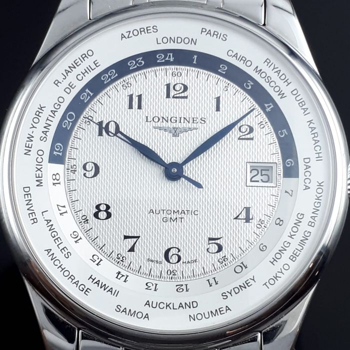 Longines - Master Collection Automatic GMT - Ref: L28024 - Men - 2011-present