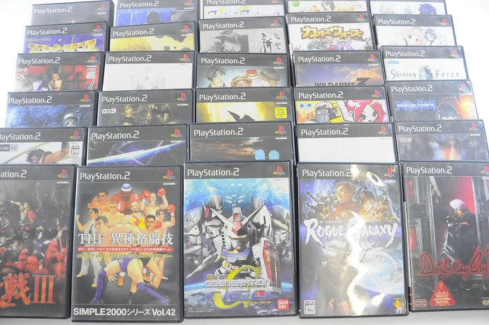 Sony Playstation 2 - 30 apanese Sony PS2 Games (30) - In
