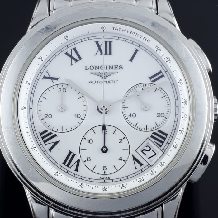 Longines - Flagship  chronograph automatic - L4.718.4 - Herren - 2007
