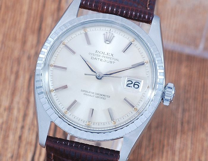 Rolex - Oyster Perpetual DateJust  - 1603 - Homme - 1980-1989