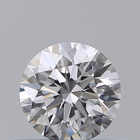 1 pcs Diamond - 0.35 ct - Brilliant - D (colourless), 3EX - VVS1, ***no reserve***