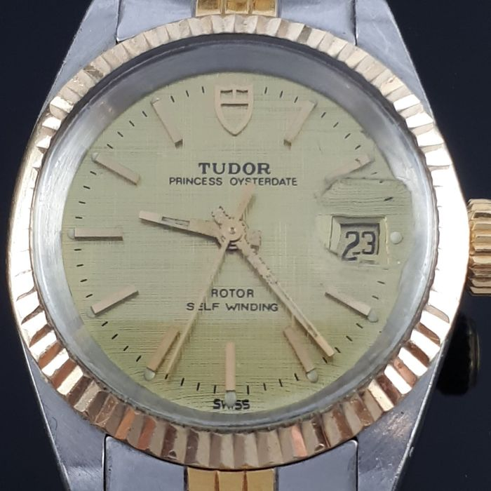 "Tudor - Princess Oyster Date - ""NO RESERVE PRICE"" - 92413N - Women - 1970-1979"