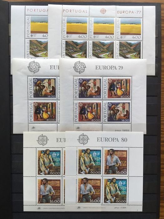 Portugal 1977/1992 - collection of miniature sheets
