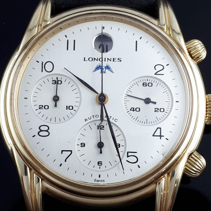 Longines - Chronograph Automatic cal.L654.2  - L4.661.4 - Heren - 1990-1999
