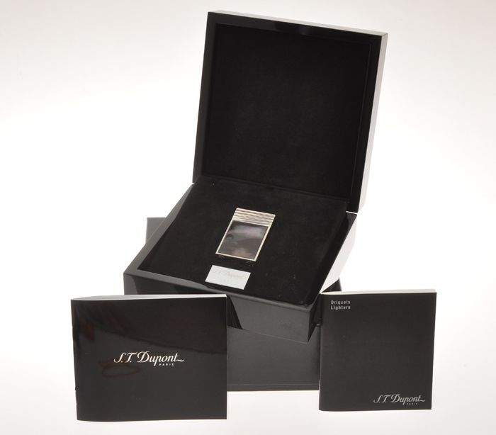 S.T. Dupont - Ligne 2 Mother of Pearl L.E. 16408 palladium lighter new in box