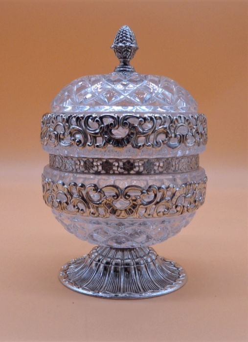 Bomboniere - Silverplate - France - First half 20th century