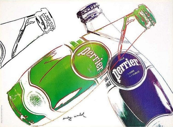 Andy Warhol - Perrier - Affiche