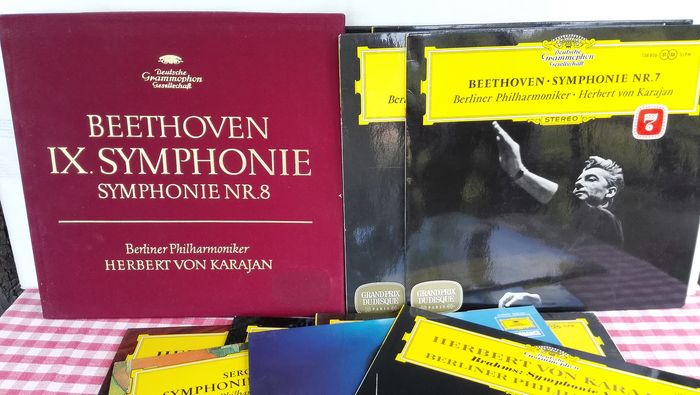 Beethoven Karajan  - Multiple titles - LP Album, LP Box set - 1980/1960