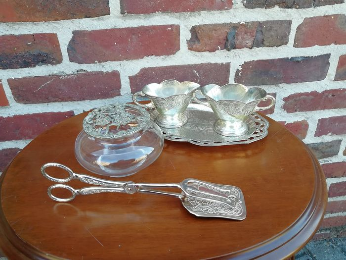 silver-plated items (5) - Silverplate - Catawiki