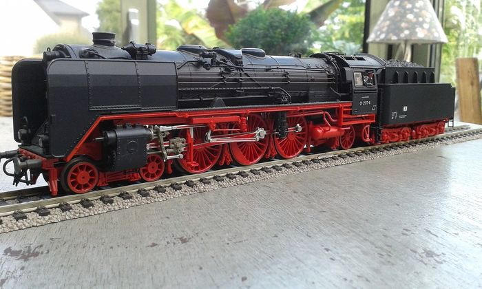 Roco H0 - 43239 - Steam locomotive with tender - BR 01.5 - DR (DDR)