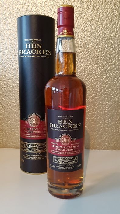 Ben Bracken 1987 30 years old - Clydesdale - 70cl