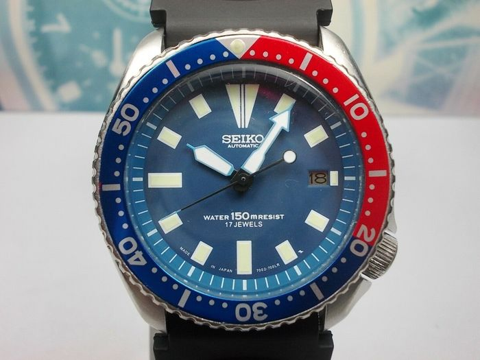 Seiko - Scuba Divers 150M - Modified 1993 model no. 7002 7000, 'SDS001' - Homme - 1990-1999