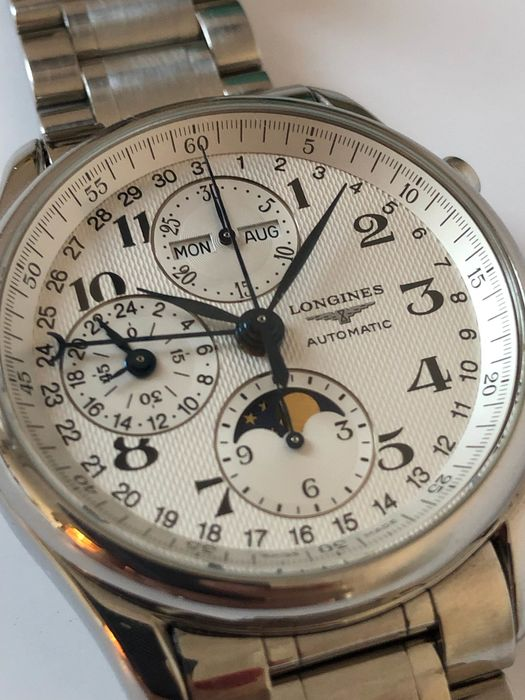 Longines - Master Collection Moonphase - L27734786 - Uomo - 2018