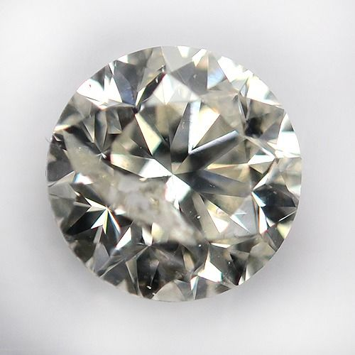 Diamant - 0.70 ct - Rond - H - P1