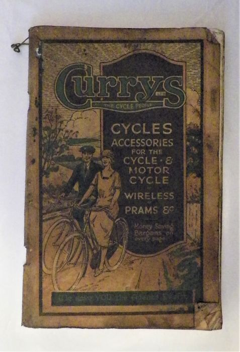Brochures / Catalogues - Rare Curry's  Cycle and Motorcycle Accessories Catalogue - 1927