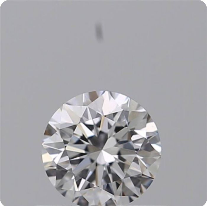 Diamond - 0.40 ct - Brilliant - D (colourless) - IF (flawless), LC (loupe clean)