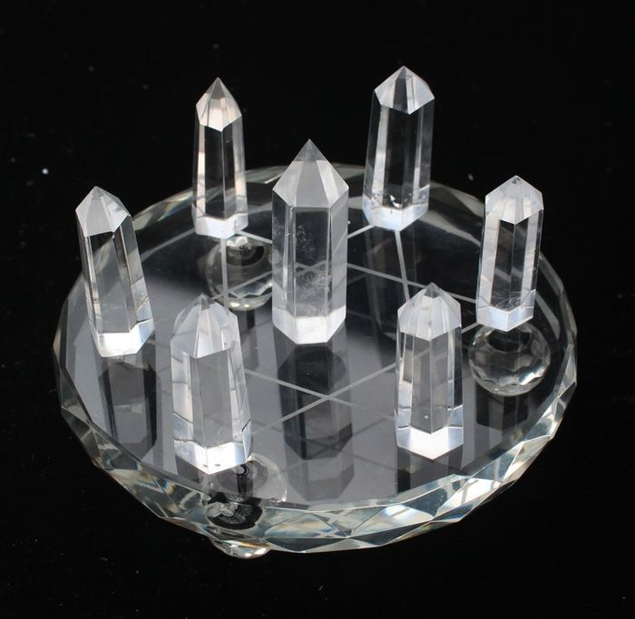 White crystal Magic array - 100×100×100 mm - 380 g